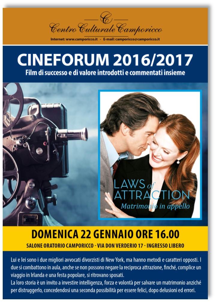 Matrimonio In Appello Streaming : Cineforum laws of attraction matrimonio in appello