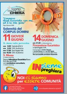 Volantino Corpus Domini 2020