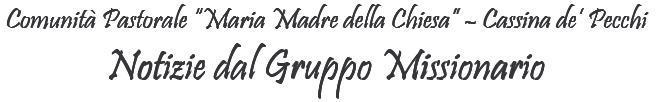 Logo Gruppo Missionario